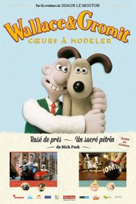 Affiche du film : Wallace & Gromit : coeurs à modeler