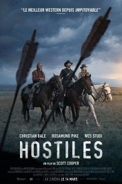 background picture for movie Hostiles