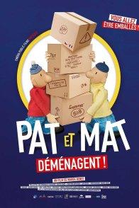 Affiche du film : Pat et Mat déménagent