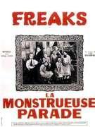 Affiche du film : Freaks, la monstrueuse parade