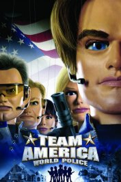 background picture for movie Team america : police du monde