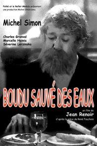 Affiche du film : Boudu sauvé des eaux