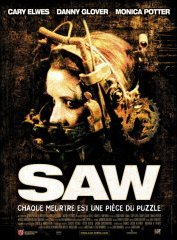 background picture for movie Saw