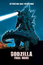 background picture for movie Godzilla final wars