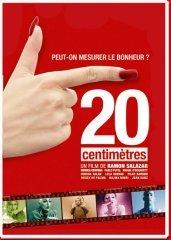 Affiche du film : 20 centimètres