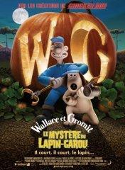 Affiche du film : Wallace et Gromit : le mystère du lapin-garou