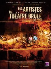 background picture for movie Les artistes du theatre brule