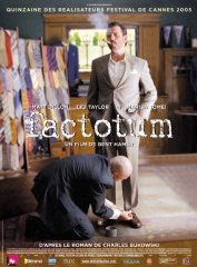 background picture for movie Factotum