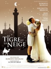 background picture for movie Le tigre et la neige