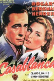 background picture for movie Casablanca