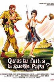 background picture for movie Qu'as-tu fait à la guerre papa ?
