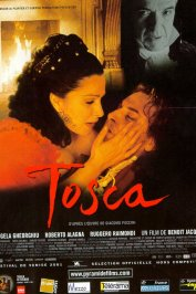 background picture for movie Tosca