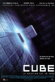 background picture for movie Cube
