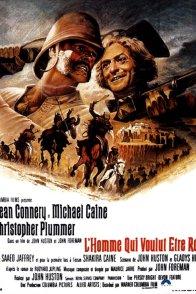 Affiche du film : L'homme qui voulut etre roi