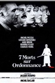 background picture for movie Sept morts sur ordonnance