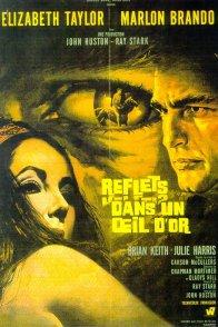 Affiche du film : Reflets dans un oeil d'or