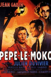 background picture for movie Pepe le moko