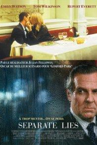 Affiche du film : Separate lies