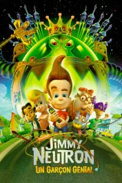 background picture for movie Jimmy neutron (un garcon genial)