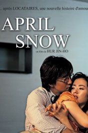 background picture for movie April snow