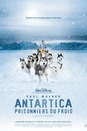 background picture for movie Antartica, prisonniers du froid