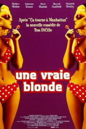 background picture for movie Une vraie blonde