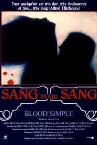 Affiche du film : Sang pour sang