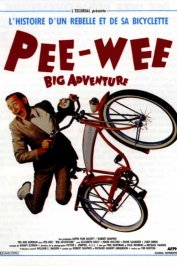 background picture for movie Pee Wee's Big Adventure