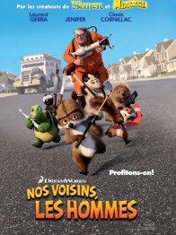 Affiche du film : Nos voisins, les hommes
