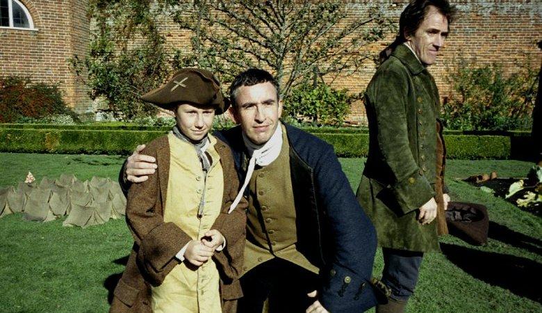 Photo du film : Tournage dans un jardin anglais