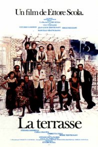 Affiche du film : La terrasse