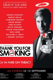 background picture for movie Thank you for smoking