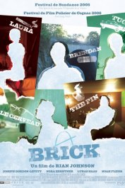 background picture for movie Brick
