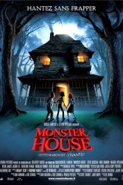 background picture for movie Monster house