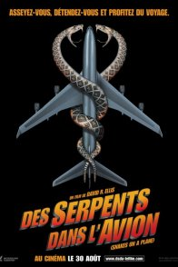 Affiche du film : Des serpents dans l'avion