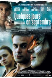 background picture for movie Quelques jours en septembre