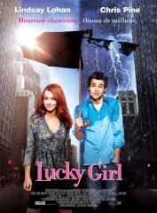 background picture for movie Lucky girl