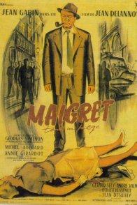 Affiche du film : Maigret tend un piège