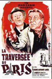 background picture for movie La traversée de Paris