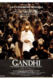 background picture for movie Gandhi