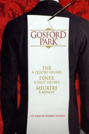 background picture for movie Gosford Park