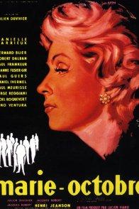 Affiche du film : Marie-octobre