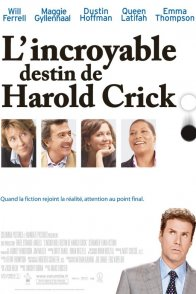 Affiche du film : L'incroyable destin de Harold Crick
