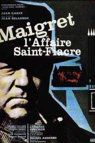 Affiche du film : Maigret et l'affaire saint fiacre