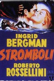 background picture for movie Stromboli