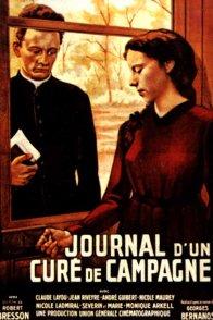 Affiche du film : Le journal d'un cure de campagne