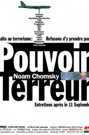 background picture for movie Noam chomsky : pouvoir et terreur
