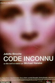 background picture for movie Code inconnu