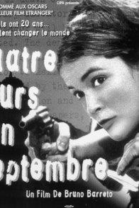Affiche du film : Quatre jours en septembre