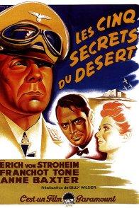 Affiche du film : Les cinq secrets du desert